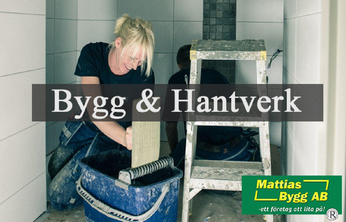 Bygg & Hantverk